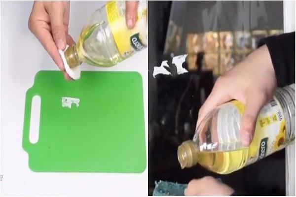 Cách tẩy băng keo dính lên nhựa